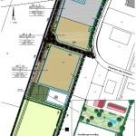 1. Änderung mit der Grünfläche des B-Plan 27