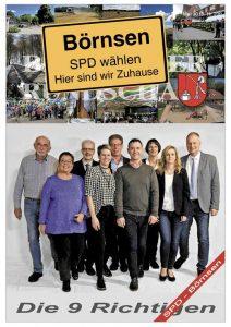 Hier sind wir Zuhause - ihre SPD-Börnsen