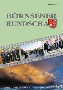 Börnsener Rundschau 213, Juni 2019